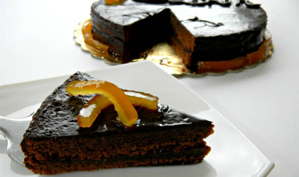Sacher revisited the scent of orange