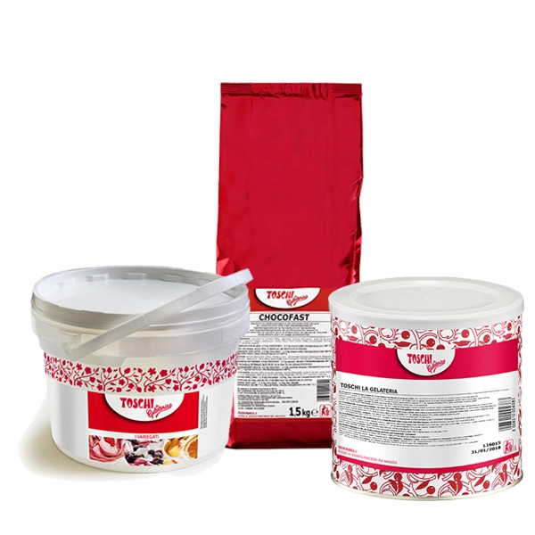 Gelateria products