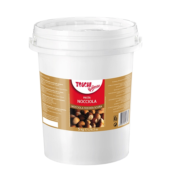 Ice-cream pastes: Dark hazelnut 5 kg bucket