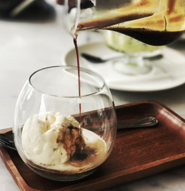 AFFOGATO ICE CREMA AND COFFEE
