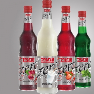 THE NEW SOFT DRINK ZERO TOSCHI