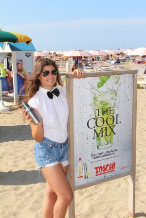 TOSCHI ON RIMINI BEACHES